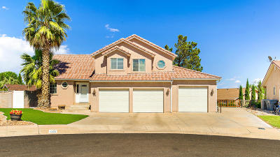 St George UT Single Family Home For Sale: $349,900