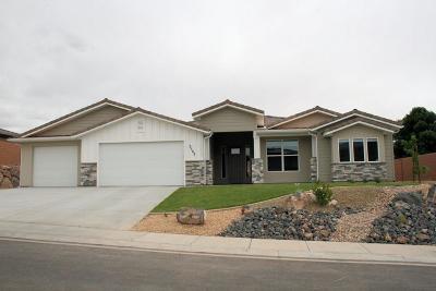 Hurricane Single Family Home For Sale: 3503 W 400 N