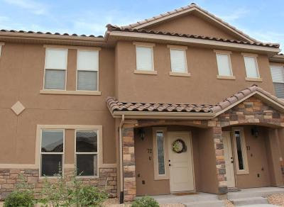 St George UT Condo/Townhouse For Sale: $189,900