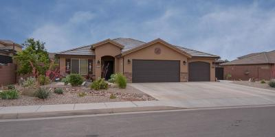 St George UT Single Family Home For Sale: $318,900