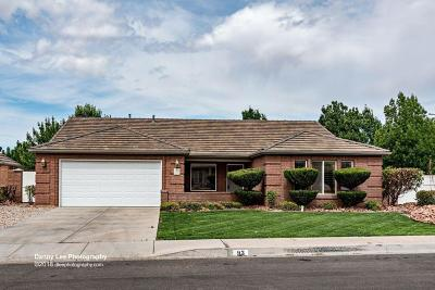 St George Single Family Home For Sale: 93 N 1250 W