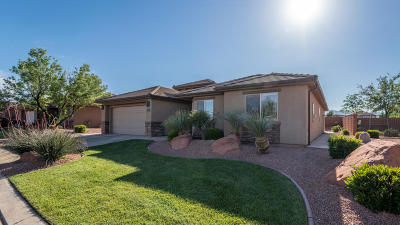 Ivins Single Family Home For Sale: 318 S 380 W