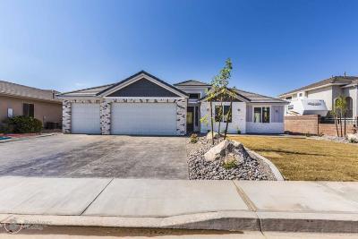 Hurricane Single Family Home For Sale: 2605 W 550 N