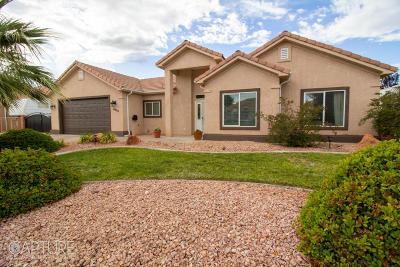Hurricane Single Family Home For Sale: 2628 W 200 N