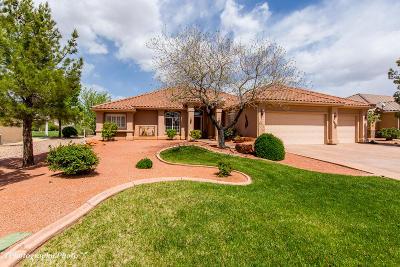 Hurricane Single Family Home For Sale: 2430 W 750 N