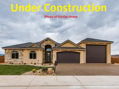 Hurricane Single Family Home For Sale: 2622 S 3560 W #Lot C-19