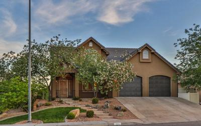 St George Single Family Home For Sale: 2316 E Panorama Parkway