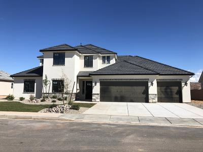 St George Single Family Home For Sale: 3751 S Hydeberry