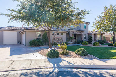 St George Single Family Home For Sale: 2106 E 2620 S Cir
