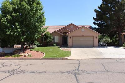 St George Single Family Home For Sale: 1137 Escalante Dr