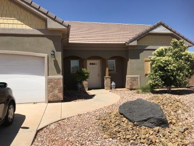 Ivins Single Family Home For Sale: 169 S 435 W Cir