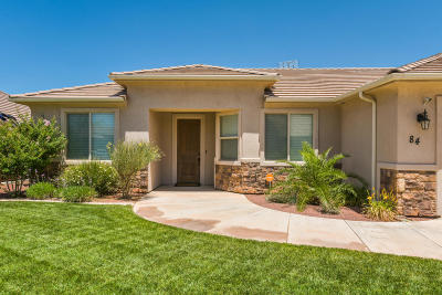 Washington Single Family Home For Sale: 84 W 1845 S