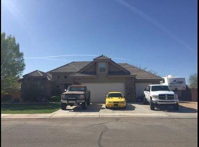 Hurricane Single Family Home For Sale: 58 E 1125 N