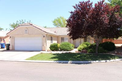 Ivins Single Family Home For Sale: 318 E 740 S