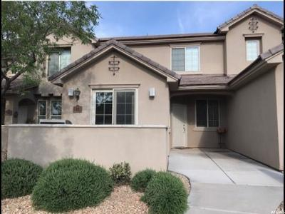 St George UT Single Family Home For Sale: $240,000