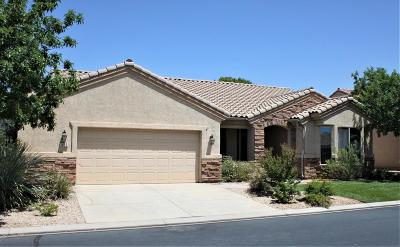 St George UT Single Family Home For Sale: $329,900
