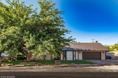 Hurricane Single Family Home For Sale: 1087 W 650 S
