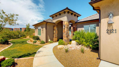 St George Single Family Home For Sale: 2121 S 1200 W