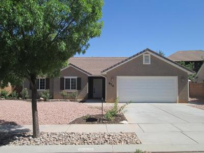 St George Single Family Home For Sale: 676 E 3470 S