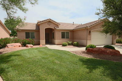 St George Single Family Home For Sale: 1630 E 2450 S #257