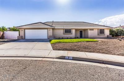 St George Single Family Home For Sale: 7 S 2060 E