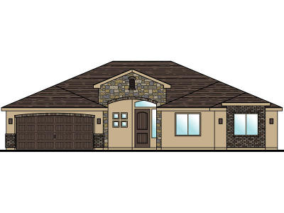 St George Single Family Home For Sale: Lot 15 3230 South St