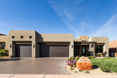 St George UT Single Family Home For Sale: $799,900
