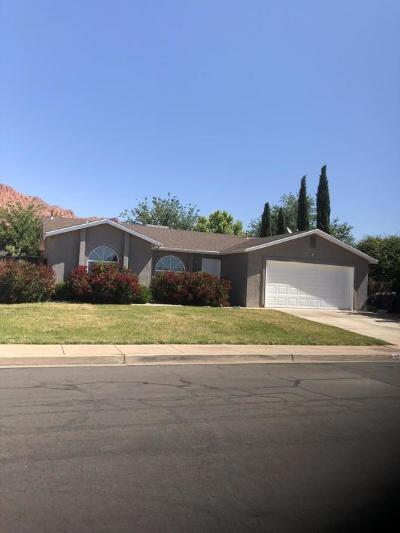 Ivins Single Family Home For Sale: 353 E 530 S