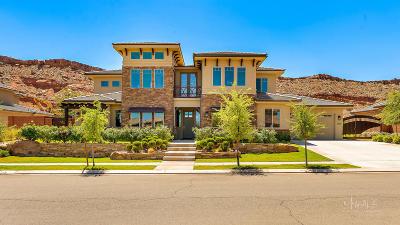 St George Single Family Home For Sale: 2908 E Auburn Dr