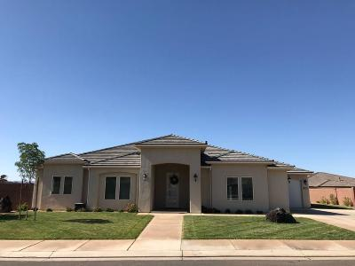 St George Single Family Home For Sale: 3031 E Livia Dr