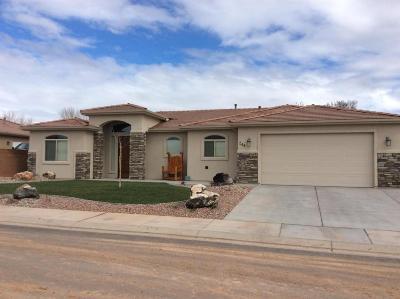 Hurricane Single Family Home For Sale: 233 N 2680 W