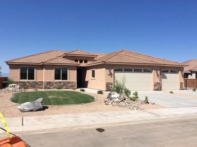 Hurricane Single Family Home For Sale: 2706 W 235 N
