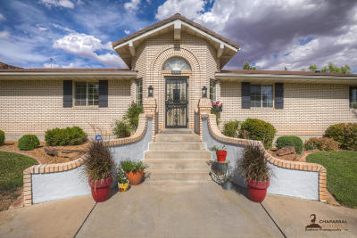 St George Single Family Home For Sale: 3417 Ute Rd