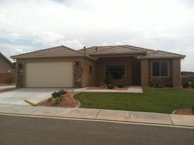 Hurricane Single Family Home For Sale: 2685 W 235 N