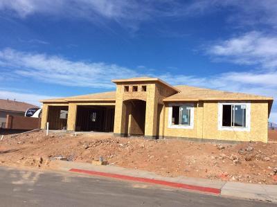 Hurricane Single Family Home For Sale: 2696 W 235 N