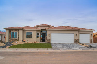 Hurricane Single Family Home For Sale: 2714 W 220 N