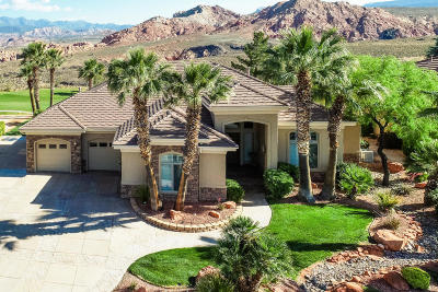 Hurricane  Single Family Home For Sale: 2348 W 1050 N