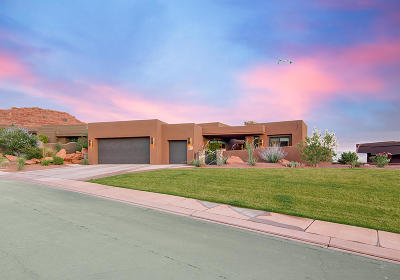St George Single Family Home For Sale: 2331 Entrada Trail #96