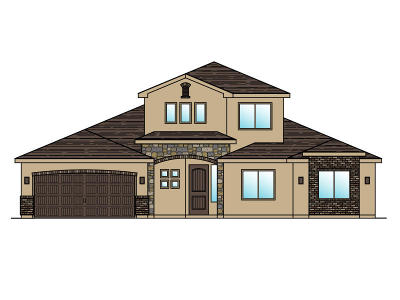 St George Single Family Home For Sale: Lot 99 1630 E. 2450 S.