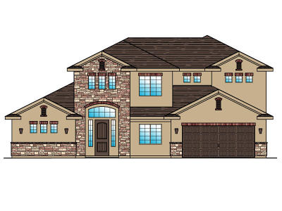 St George Single Family Home For Sale: Lot 100 1630 E. 2450 S.