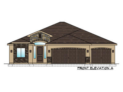 St George Single Family Home For Sale: Lot 106 1630 E. 2450 S.