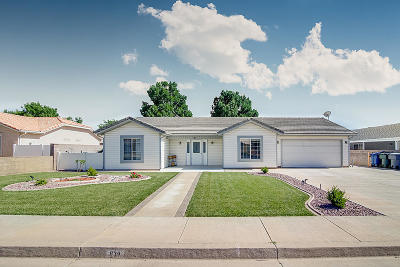 Hurricane Single Family Home For Sale: 839 W 200 S