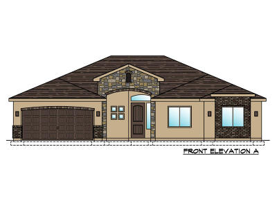 St George Single Family Home For Sale: Lot 55 3100 South St.