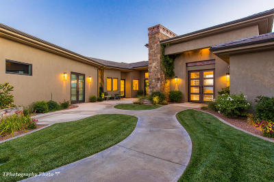 St George Single Family Home For Sale: 1845 E Lepido Way