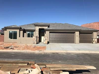 Ivins Single Family Home For Sale: 562 W Cougar Way #lot 65