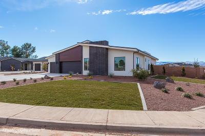St George Single Family Home For Sale: 3091 Jacob Hamblin Dr
