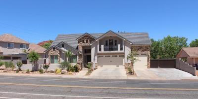 St George Single Family Home For Sale: 1972 Lava Flow Dr