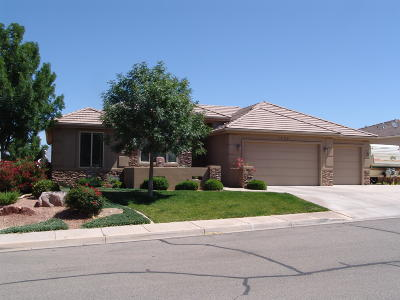 St George Single Family Home For Sale: 1439 E 3090 S Cir
