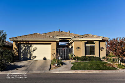 St George UT Single Family Home For Sale: $470,000