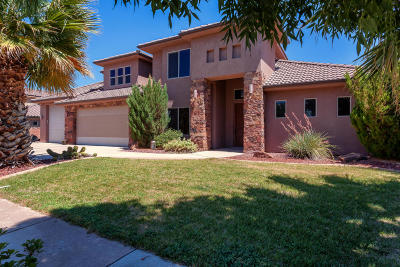 St George Single Family Home For Sale: 611 E Ducati Way